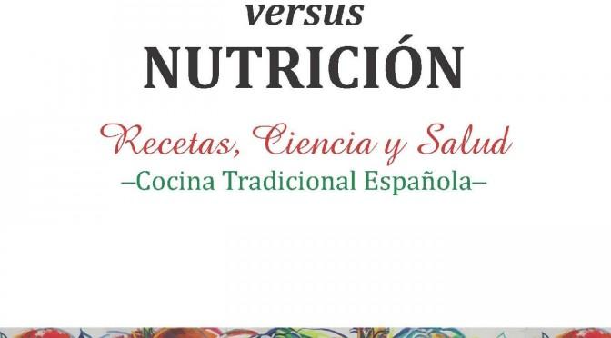 El Decano de la UMU Gaspar Ros, presenta un libro de cocina basado en el novedoso campo de la Gastronomía Nutramolecular