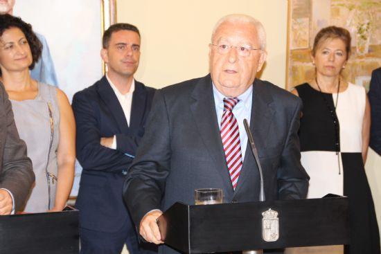 Los presupuestos y la transparencia, conferencia de José Molina en la Facultad de Bellas artes