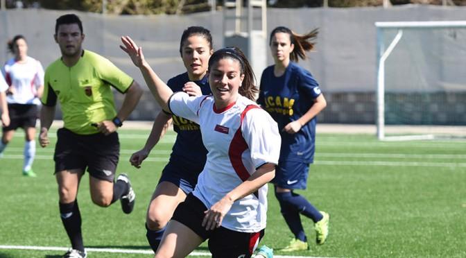 La Universidad de Murcia acoge la primera fase de los campeonatos Nacionales de Fútbol femenino sub-18 y sub-16