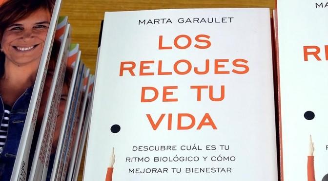 """Profesora Marta Garaulet presenta mañana su libro """"Los relojes de tu vida"""""""