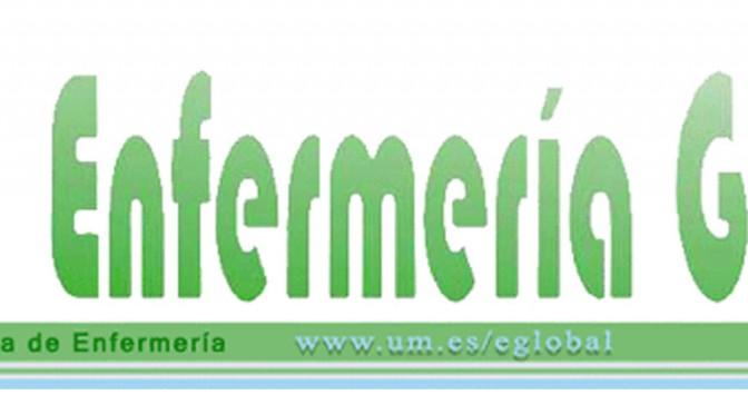 La UMU publica un nuevo número de la revista Enfermería Global