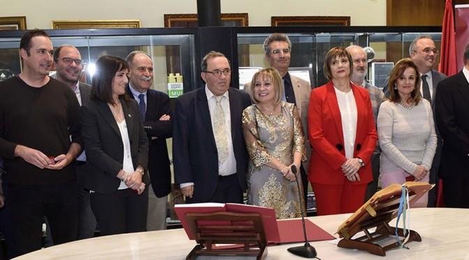 El rector de la UMU anuncia la transformación de 57 plazas de profesores interinos en profesores contratados en acto de toma de posesión