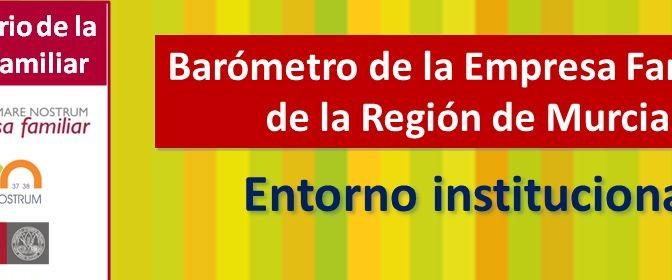UMU acoge mañana la presentación del Barómetro de la Empresa Familiar