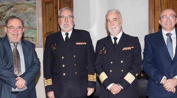 visita directores archivo y museo naval