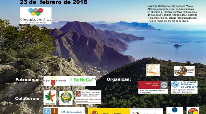 UMU ofrece mañana recepción a los participantes en la IX Olimpiada De Geología de la Región