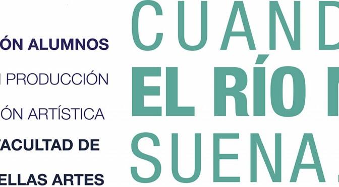 """""""Cuando el río no suena …"""" muestra las obras de diez  artistas sobre los efectos del cambio climático en el  agua de la Región de Murcia"""