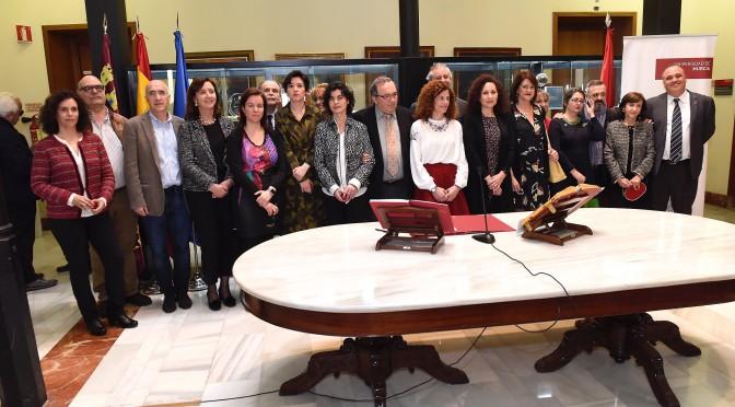 Toma de posesión de profesores titulares y catedráticos de la Universidad de Murcia