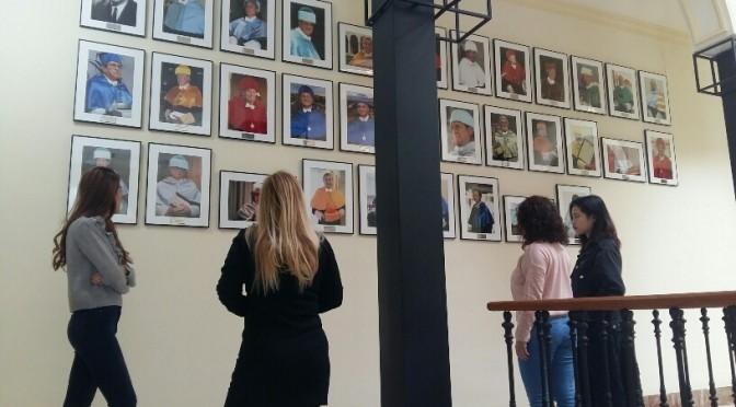 La UMU estrena galería de doctores Honoris Causa