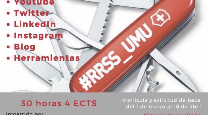 Un curso de la Universidad de Murcia abordará las redes sociales desde una perspectiva profesional