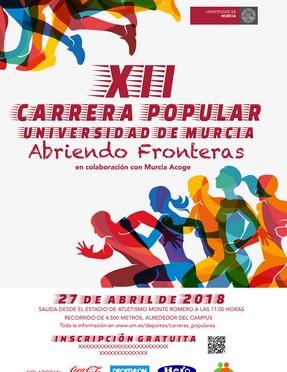 El plazo para inscribirse en la Carrera Popular de la universidad de Murcia finaliza mañana