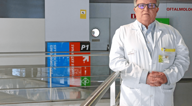 Rafael Pacheco, profesor de la Universidad de Murcia, ingresa en la Real Academia de Medicina y Cirugía