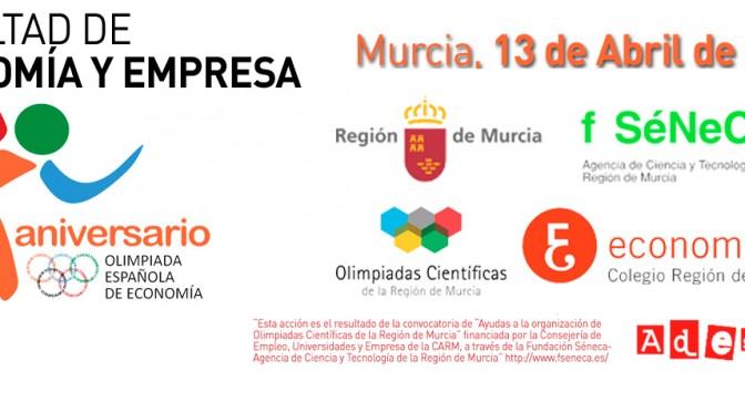 Se clausura la IX Olimpiada de Economía de la Región de Murcia