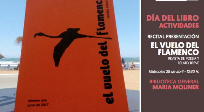 """La Biblioteca María Moliner de la UMU acoge un recital presentación de la revista """"El vuelo del Flamenco"""""""