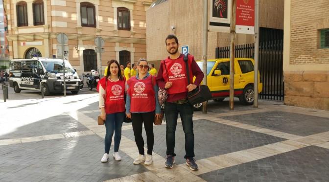 Alumnos de Comunicación de la Universidad de Murcia colaboran en el gran simulacro de emergencias de la Región