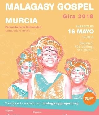 Voces de niñas de Madagascar sonarán en la Universidad de Murcia para ayudar en un proyecto solidario
