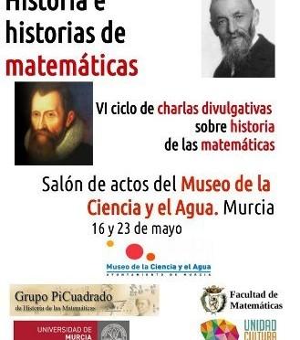'Historia e Historias de las Matemáticas' en el Museo de la Ciencia y el Agua