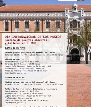 La Universidad de Murcia celebra el Día Internacional de los Museos con jornadas de puertas abiertas y talleres