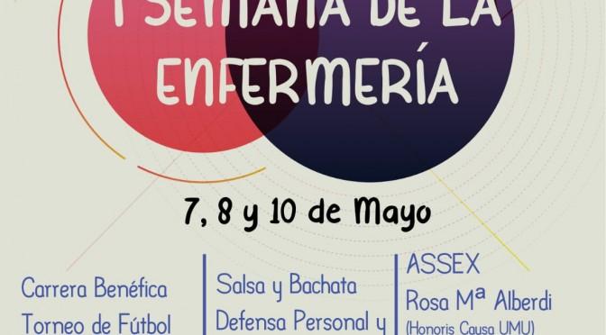 La Universidad de Murcia celebra la I Semana de la Enfermería