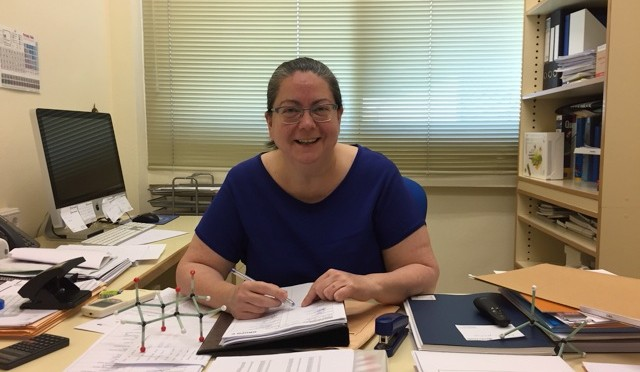 La catedrática de la Universidad de Murcia Isabel M. Saura Llamas ingresará en la Academia de Ciencias de la Región