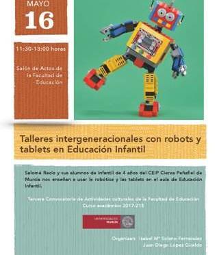 Niños de cuatro años enseñan a los alumnos de la Facultad de Educación cómo usar la robótica y la tecnología en clase