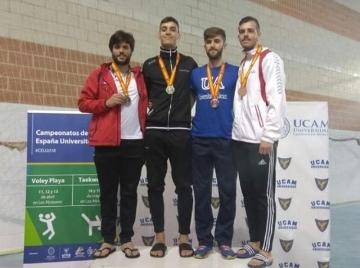 Un alumno de la UMU gana una medalla de bronce en el campeonato nacional universitario de taekwondo