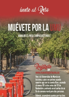 Moverse en bicicleta tiene premio en la Universidad de Murcia