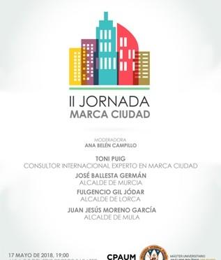 Toni Puig explica en la Universidad de Murcia cómo crear y difundir 'marca ciudad'