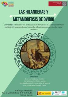 Protagonistas clásicos y universales en la nueva charla de la UMU: los tapices de las hilanderas y Ovidio