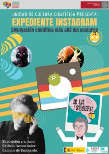 Cartel exposicion Instagram