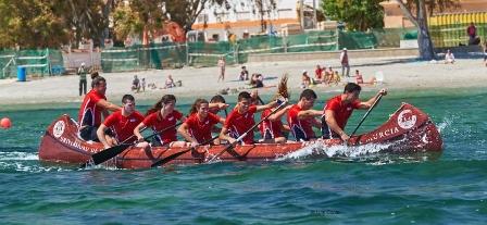 El equipo de piragüismo de la UMU participa en el Campeonato Náutico Inter-Universidades