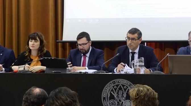 El Consejo de Gobierno de la UMU elige sus comisiones de trabajo y presenta los convenios de prácticas para estudiantes