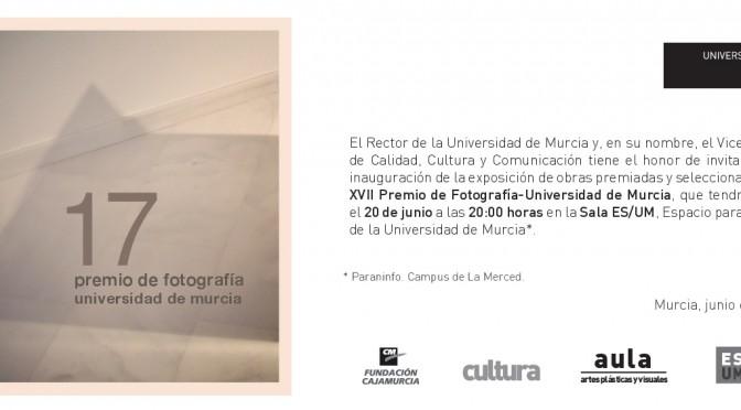 La UMU expone una muestra de las obras premiadas y seleccionadas del XVII Premio de Fotografía