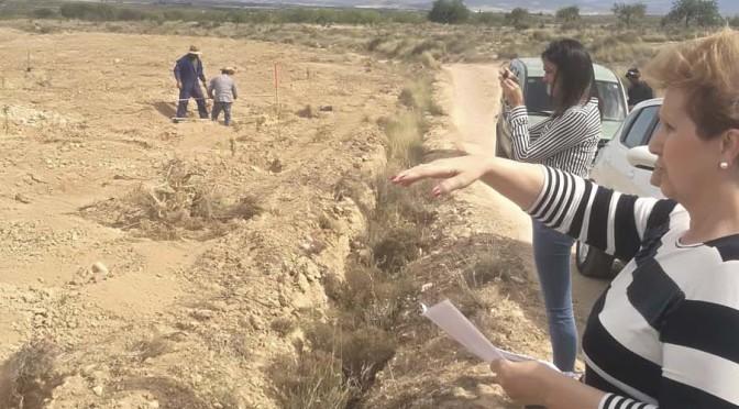 El proyecto murciano de adaptación al cambio climático LIFE AMDRYC4 recibe la primera visita de su supervisor europeo