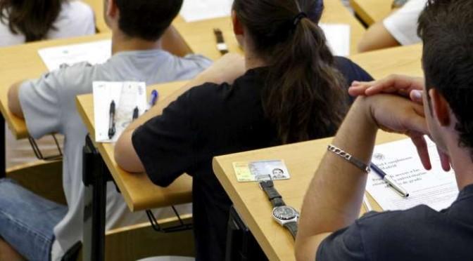 Las pruebas de acceso a la Universidad comienzan este viernes para 6.686 estudiantes de la Región de Murcia