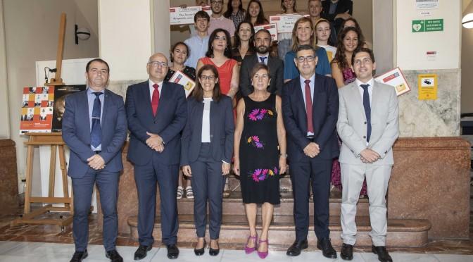La Universidad de Murcia premia la creatividad y el ingenio de los estudiantes que disfrutarán de estancias internacionales