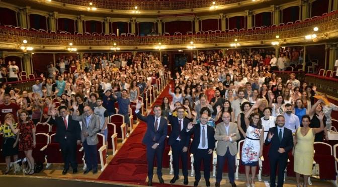 La Universidad de Murcia da la bienvenida los casi mil alumnos extranjeros que pasarán este curso por la Universidad de Murcia