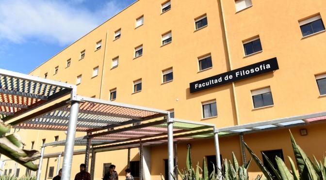 Toma de posesión de la decana de la facultad de Filosofía de la Universidad de Murcia