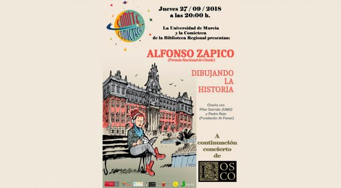 'Dibujando la historia', de la mano de Zapico, premio Nacional de Cómic