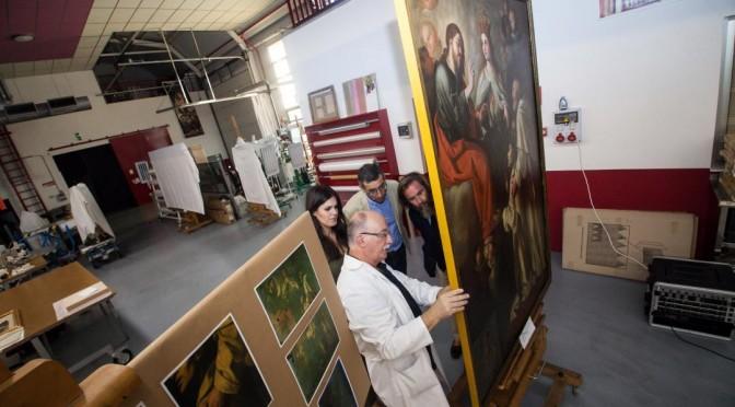 San Pedro Nolasco brilla de nuevo en el Rectorado de la UMU