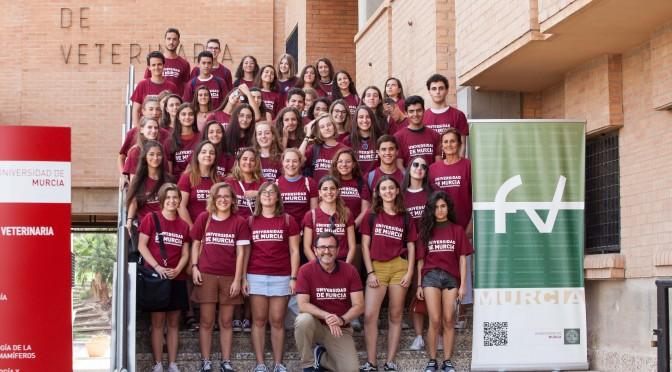 La Facultad de Veterinaria inicia las actividades de acogida e información a los nuevos alumnos de la Universidad de Murcia