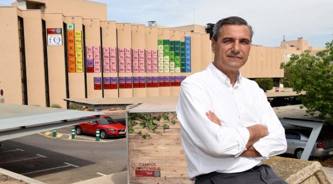 Pedro Lozano, reelegido decano de la Facultad de Química de la Universidad de Murcia
