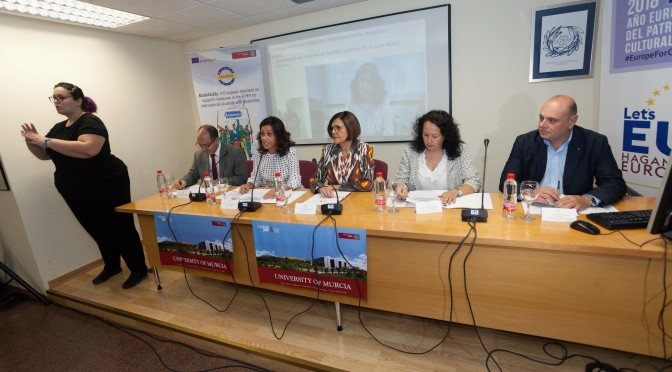 La UMU coordina la apuesta de Europa para que cada vez más estudiantes con discapacidad disfruten de estancias Erasmus