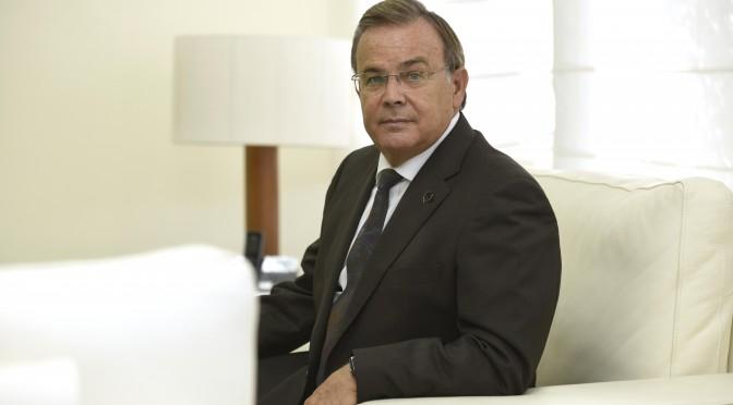 """""""Hay que apostar por el desarrollo, pero siempre cuidando el medio ambiente"""" (Patricio Valverde, nuevo doctor Honoris Causa de la UMU)"""