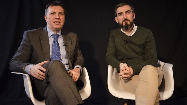 Joaquim Bosch e Ignacio Escolar presentan 'El secuestro de la justicia' en la facultad de Derecho de la Universidad de Murcia