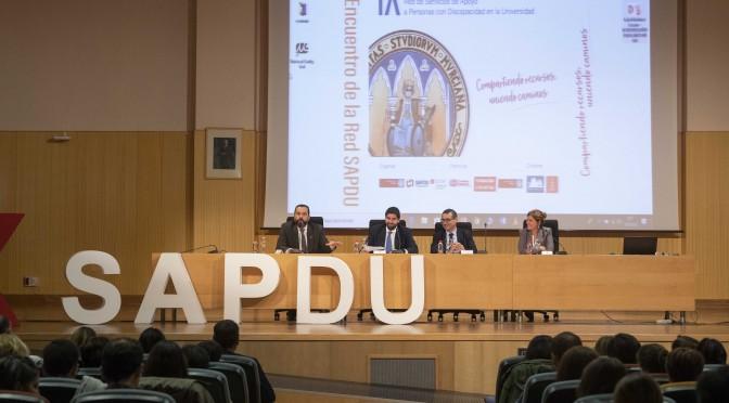 La Universidad de Murcia se convierte durante dos días en el epicentro del trabajo de las universidades españolas para mejorar la inclusión