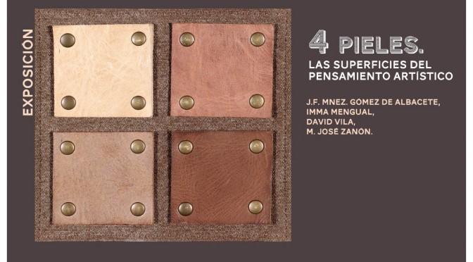 La Universidad de Murcia expone '4 pieles', una muestra de cuatro artistas que abordan diferentes métodos de producción escultórica