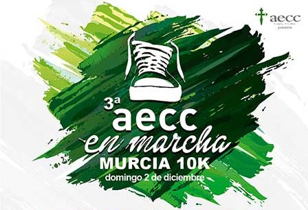 La marcha de la AECC del domingo 2 de diciembre dedica su recaudación a un proyecto de investigación de la UMU que busca nuevos tratamientos contra el melanoma
