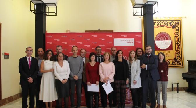Personal funcionario de la Universidad de Murcia toma posesión de sus plazas