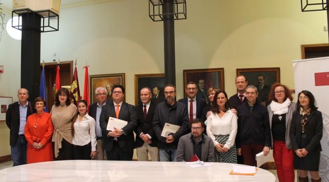 La Universidad de Murcia alza la voz contra la violencia hacia las mujeres con la lectura de un manifiesto con motivo del 25N