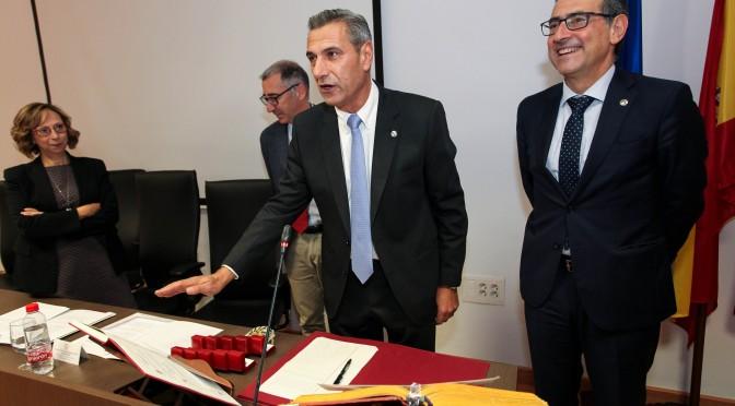 Toma de posesión del decano de la Facultad de Química de la Universidad de Murcia